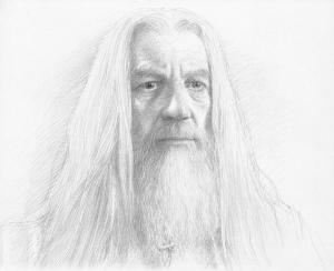 Gandalf - Alan Lee